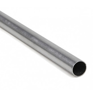 "ALUMINIUM RND TUBE 5.55mm (7/32) x 300mm (12"")"