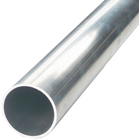 "ALUMINIUM RND TUBE 11.11mm (7/16"") x 300mm (12"")"