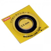 Kyosho 1843 Micron Tape 2.5mm x 5M Black