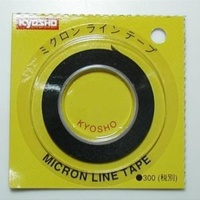 Kyosho 1860 Micron Tape .7mm x 8M Black