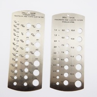 Metric & Imperial Drill Gauge Set