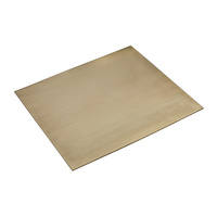 BRASS SHEET 150mm x 150mm x 1.02mm