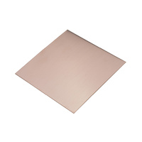 COPPER SHEET 150mm x 150mm x 1.02mm
