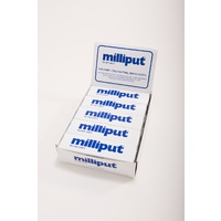 Milliput Silver Grey Putty - 10 Pack