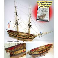 Model Shipways Us Brig Syren 1:64 Scale