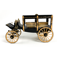 1895 Horse-Drawn Hearse Wagon