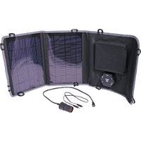 10W 6 -15V Fold Out Portable Solar Battery Charger