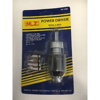 Power driver with 4 bits