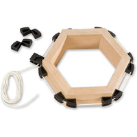 Nobex Framing Cord Clamp with 8 Corners