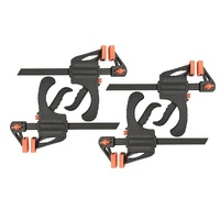Bar Clamp 150mm Opening Capacity - Quick Clamp 4 Pack