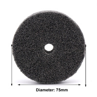 Fibre Abrasive Wheel - 75mm x 10mm bore
