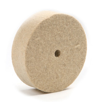 Wool Felt Wheel - 75mm x 20mm x 10mm