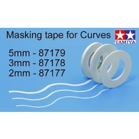 Tamiya Masking Tape 3mm for curves
