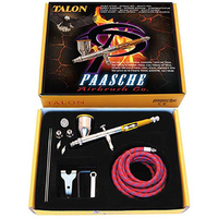 Paasche - Talon Set Gravity w/all 3 heads & Fan Aircap