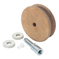 PRE-ORDER NOW! WG250-N Profiled Leather Honing Wheel