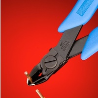 Oval Head Micro-Shear® Flush Cutter with Wire Retaining Clip