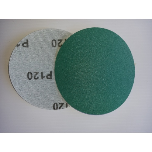 Hook and Loop backed abrasive discs - 125mm x 120 grit