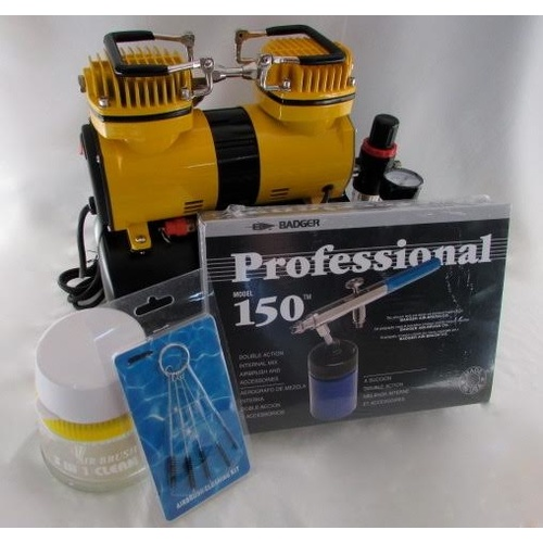 Badger Airbrush with Mini Air Compressor kit