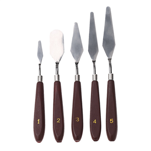 5-Piece Artists' Spatula Set