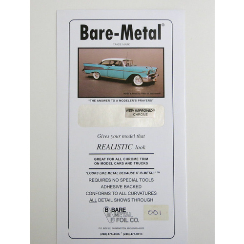 Bare Metal Foil, Chrome