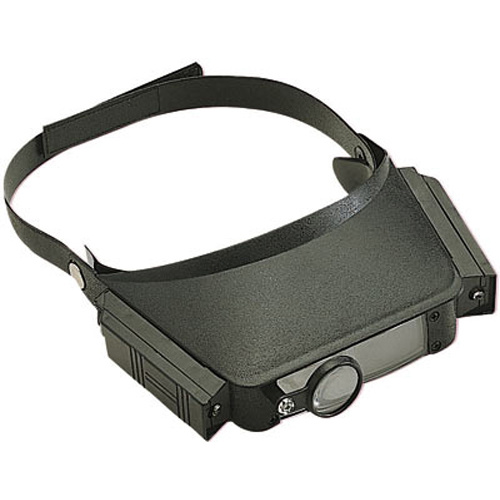 Head Mounted Magnifier with Side Lights