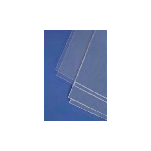 STYRENE SHEETS CLEAR (2)  150MM X 300MM X .25MM THK
