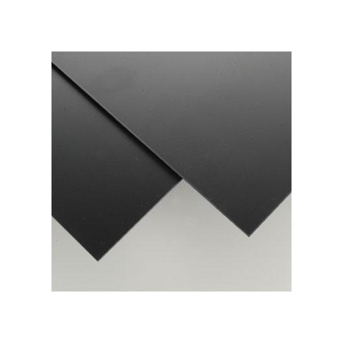 STYRENE SHEETS 203MM X 533MM X 2.03MM BLACK (2)