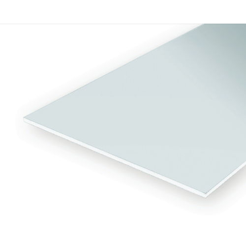 STYRENE SHEETS 279MM X 356MM X 1.53MM WHITE (4)