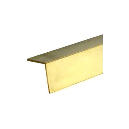 "BRASS ANGLE 1/4"" x .014"" x 12"" - 1 pc"