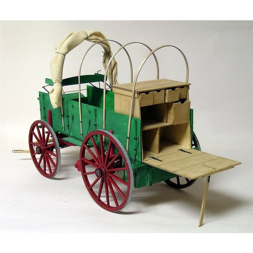 Model Trailways Chuck Wagon