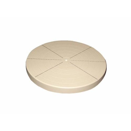 Plastic turntable 200mm x 35mm height