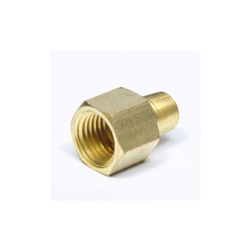 "Hose adaptor 1/8"" male to 1/4"" female"