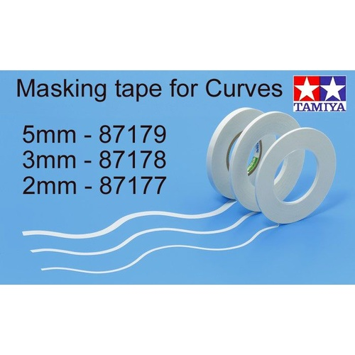 Tamiya Masking Tape 5mm for curves