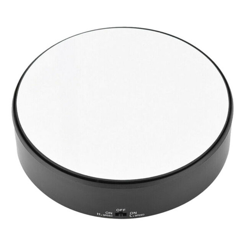 Battery Operated Round Mirrored Display Turntable 175mm