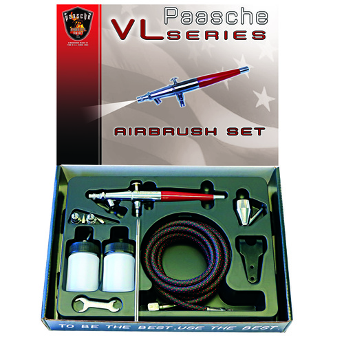 VL Double Action Airbrush Set - PAASCHE